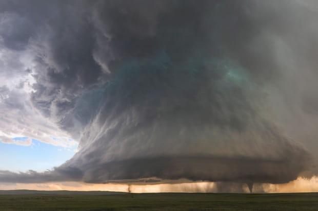 Des orages supercellulaires gigantesques