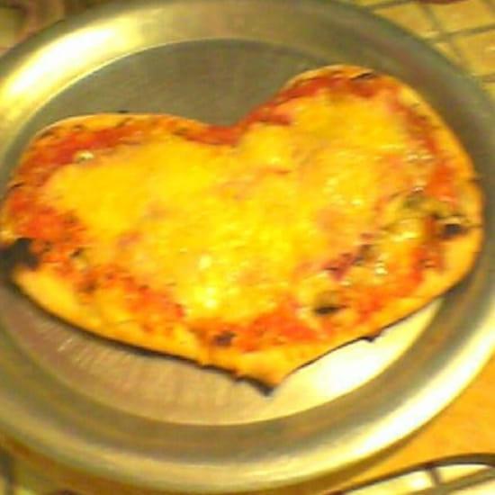 Entrée : Chez Didier et Brigitte  - Pizza st Valentin.  -