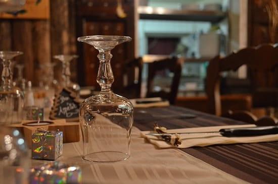 La Tanière  - Notre table -