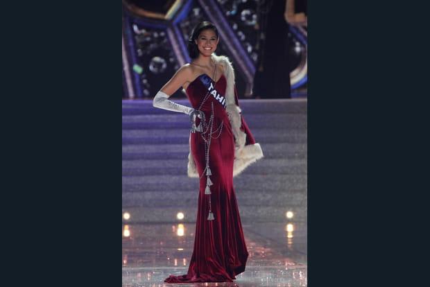 Miss Tahiti glamour