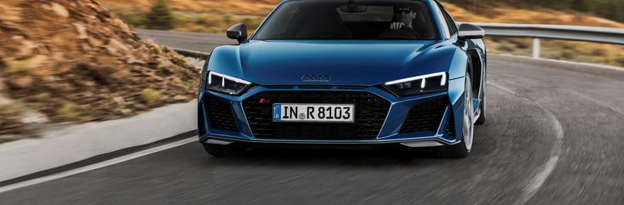 La nouvelle Audi R8restylée en images