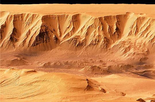 Immersion au coeur de la planète Mars