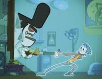 Mon pote le fantôme : La dispute/L'homme poisson