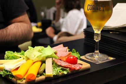 Plat : Café-Galerie Dubail  - Le plateau apéritif -   © Café Galerie Dubail