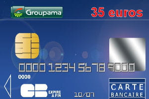 Carte Bancaire Groupama.16e Groupama Banque Avec Une Carte Bleue Visa A 35 Euros