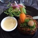Plat : Le Daniel's  - Brandade de morue et son beurre blanc -