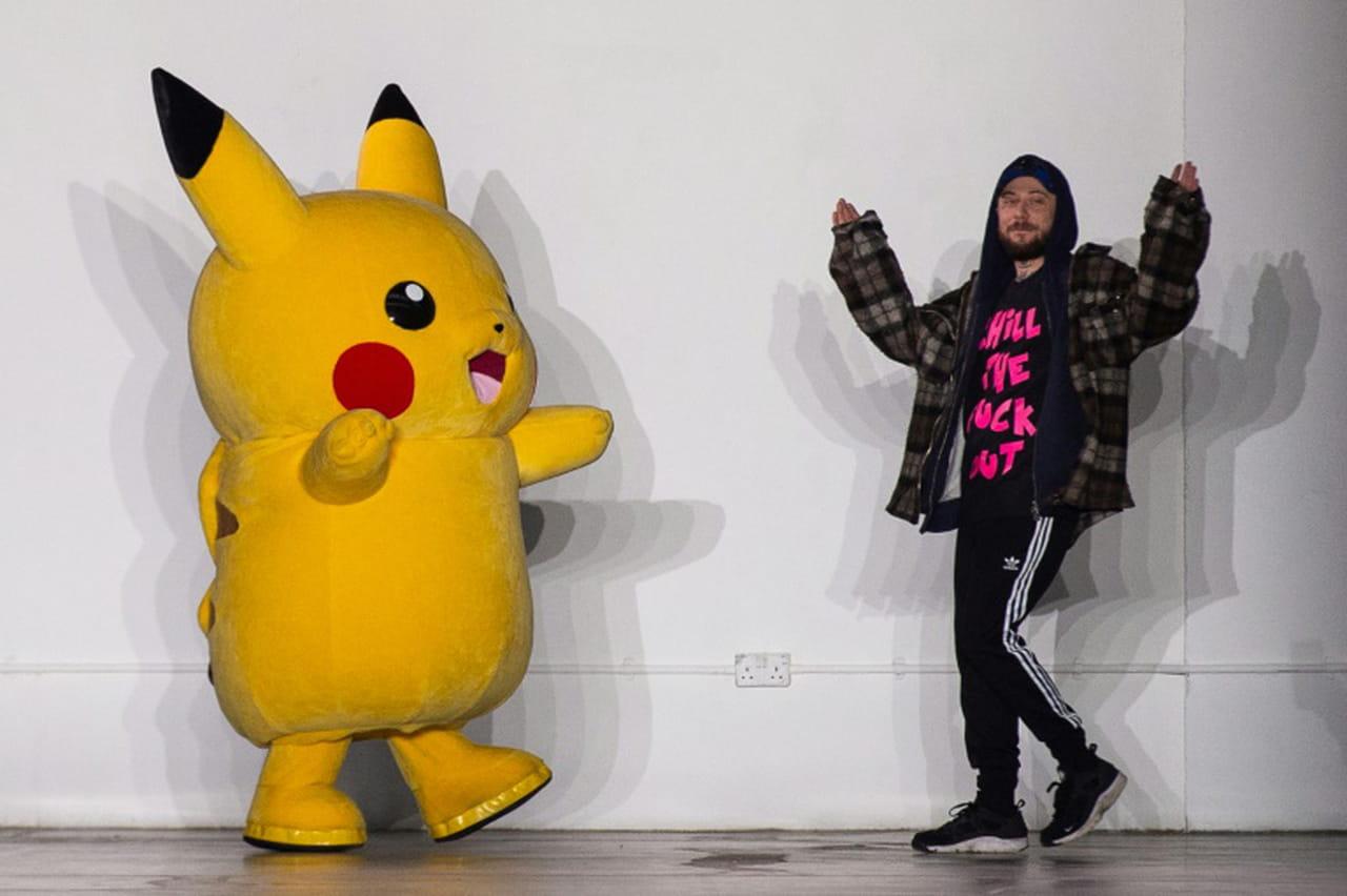 Pikachu, provoc' et jeunes talents: les temps forts de la Fashion Week de Londres