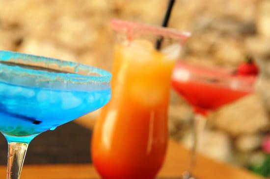Boisson : Restaurant Les Ecuries d'Aiguillon  - Parmis nos cocktails -   © Véro