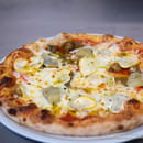 Plat : Le Jardin des Sablons  - La Pizza aux Légumes du Soleil -   © Les Sablons