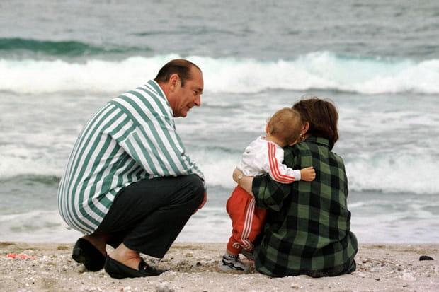 Jacques Chirac et son petit fils Martin