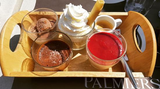 Dessert : Les Palmiers  - Café gourmand -   © les palmiers