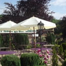 Auberge des Moulins  - notre terrasse -   © nathalie