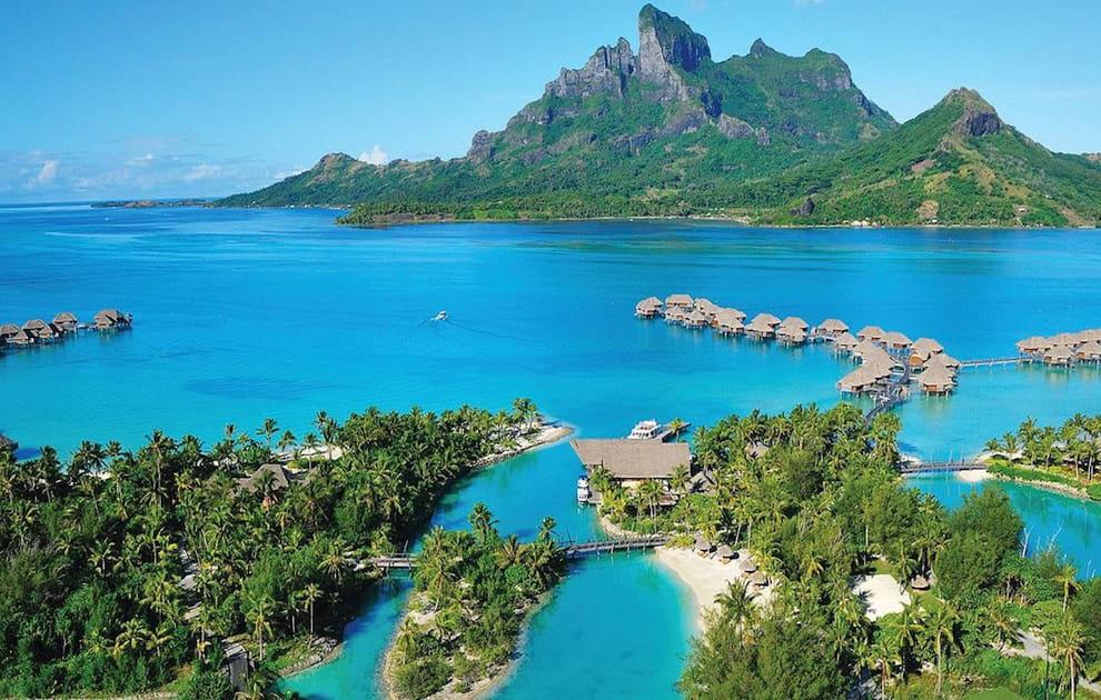 Une île paradisiaque, rien que pour vous