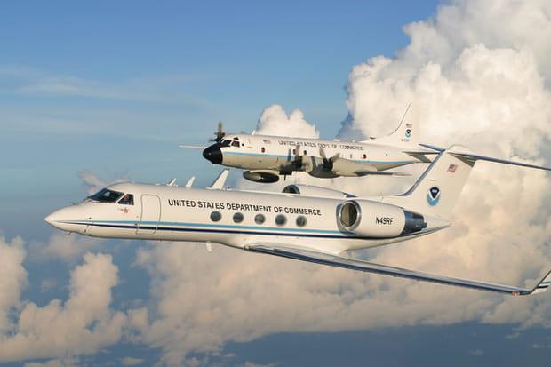 P3 GIV Flying, un chasseur dans les nuages