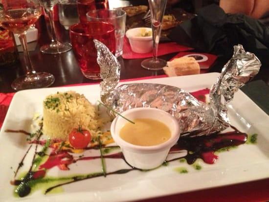 Plat : Le Café Foutu  - Papillotes de julienne !!!! Délicieux  -