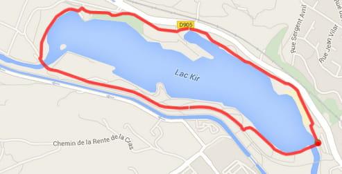 Dijon : le lac Kir (3,6km)
