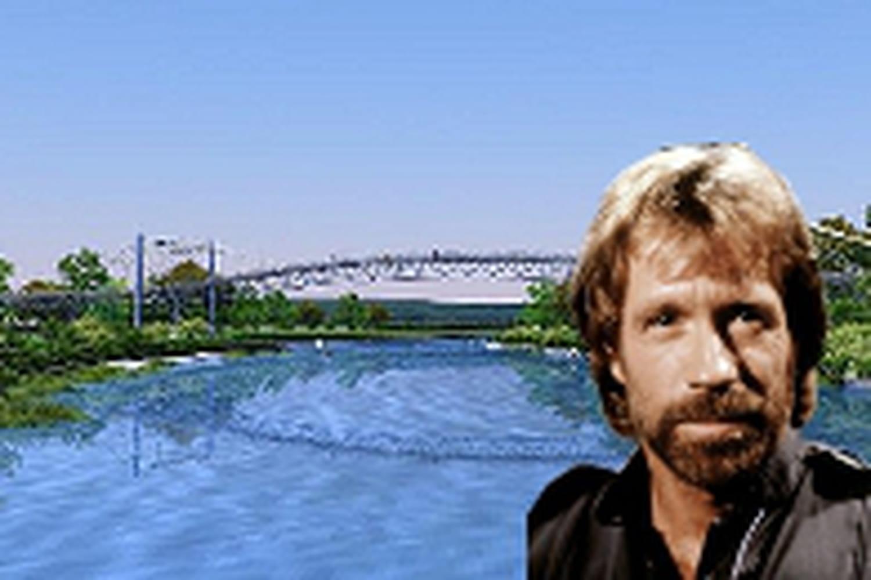 Un pont Chuck Norris en Slovaquie