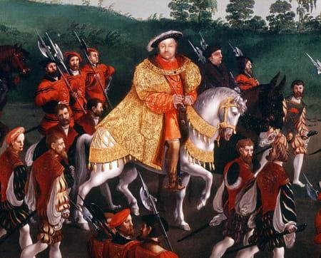 Entrevue du roi de France François Ier et du roi d'Angleterre Henri VIII au Camp du Drap d'or en 1520