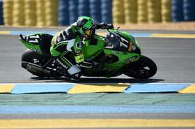 24Heures Moto: 1re heure, la Kawasaki N.11avec De Puniet en tête