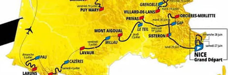 Tour de France 2020: les nouvelles dates, la carte et le parcours inchangés