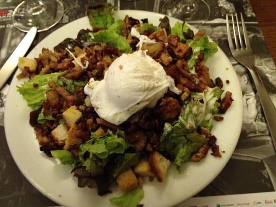 Entrée : Le Laurencin  - La fameuse salade -