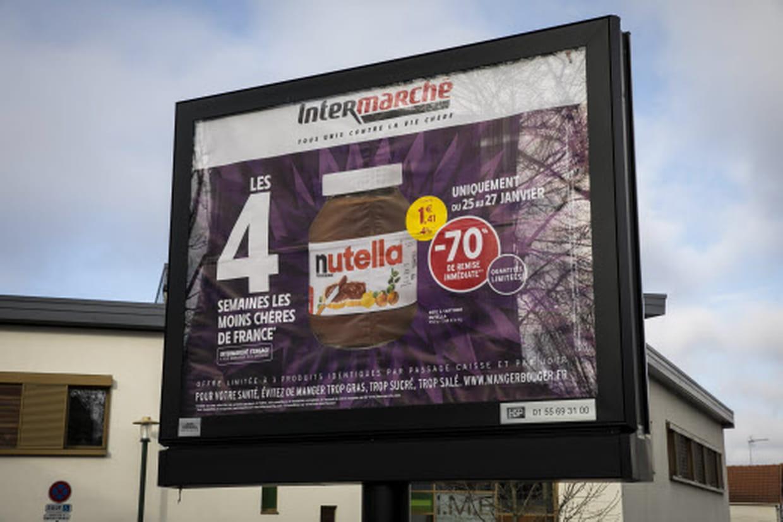 video promotion sur le nutella nouvelles tensions intermarch. Black Bedroom Furniture Sets. Home Design Ideas
