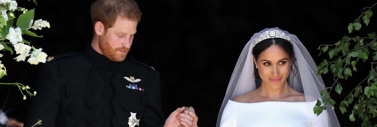 Les photos du mariage du prince Harry et de Meghan Markle