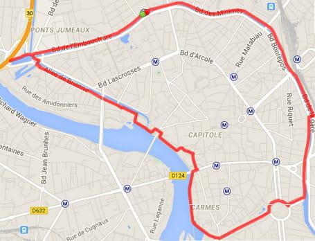 Toulouse : le Canal du Midi