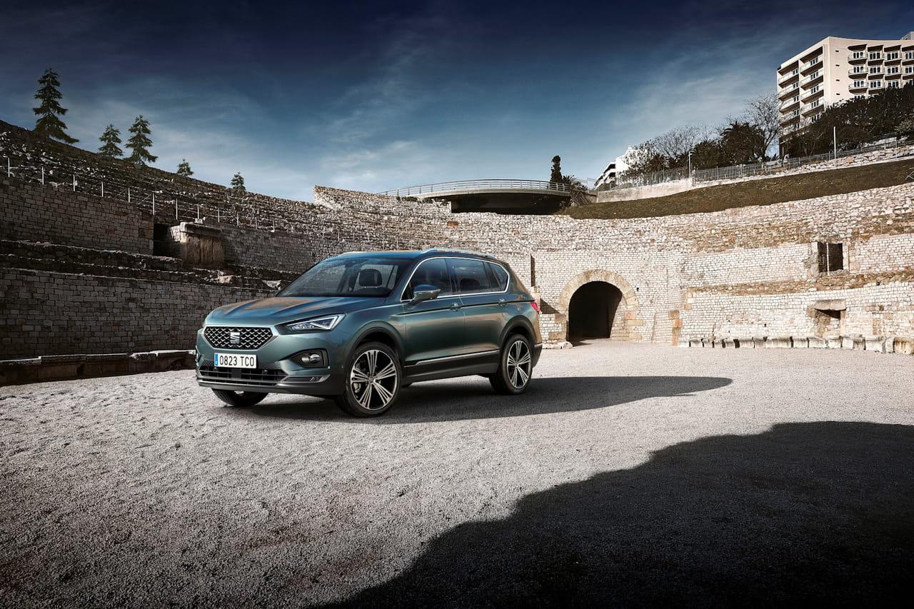 Les photos du SUV 7places de Seat, le Tarraco