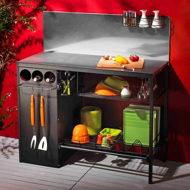 la cuisine d 39 ext rieur en inox futuna de somagic. Black Bedroom Furniture Sets. Home Design Ideas