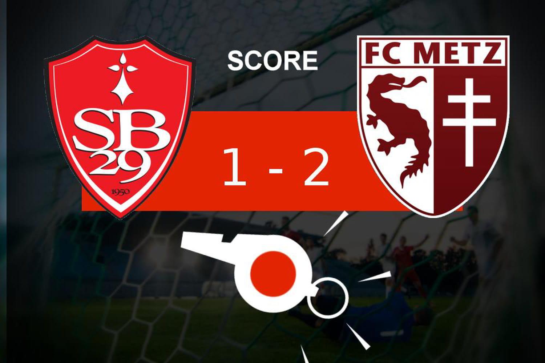 Brest - Metz: mauvaise opération pour le Stade Brestois, le résumé du match