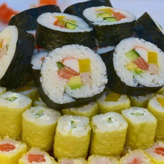 Plat : Magic Sushi Nemours  - Makis -