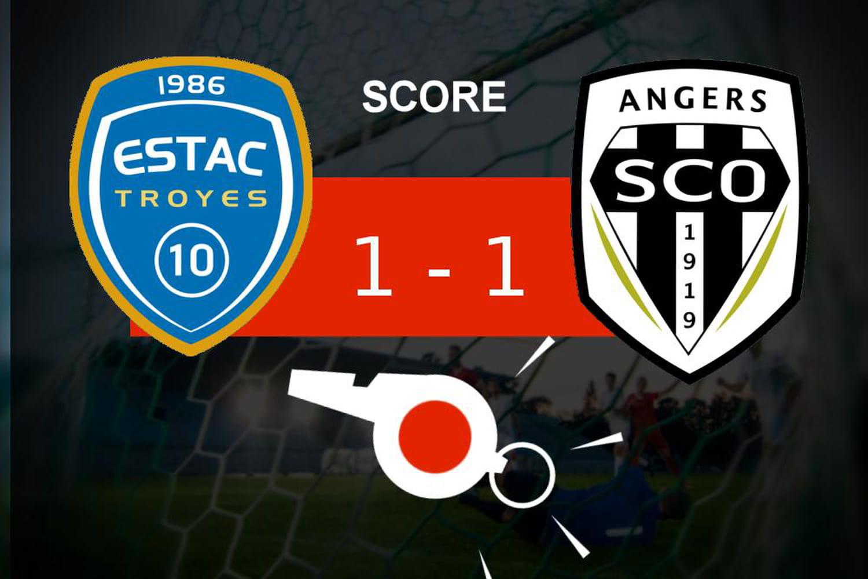 Troyes - Angers: des buts mais une égalité parfaite, les moments clés du match