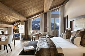 Hôtel Spa Les Neiges à Courchevel, cocooning de luxe à la montagne