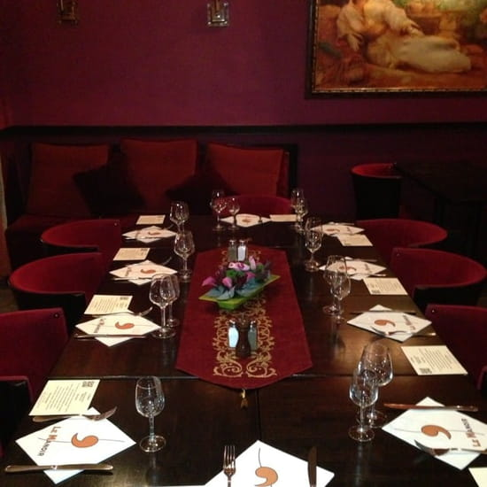 Restaurant : Le Manoir  - Salon privatisante -