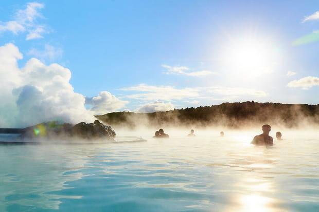 Le blue lagoon islande - Piscine eau laiteuse ...