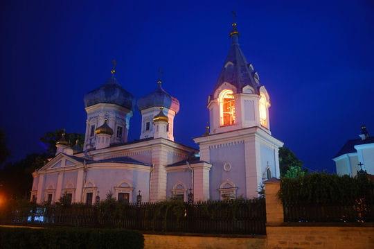 Le Monastère de Ciuflea en Moldavie