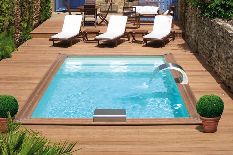 Une piscine d di e la d tente for Prix spa piscine