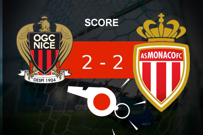 Nice - Monaco: l'OGC Nice n'a pas fait la différence, revivez les temps forts du match