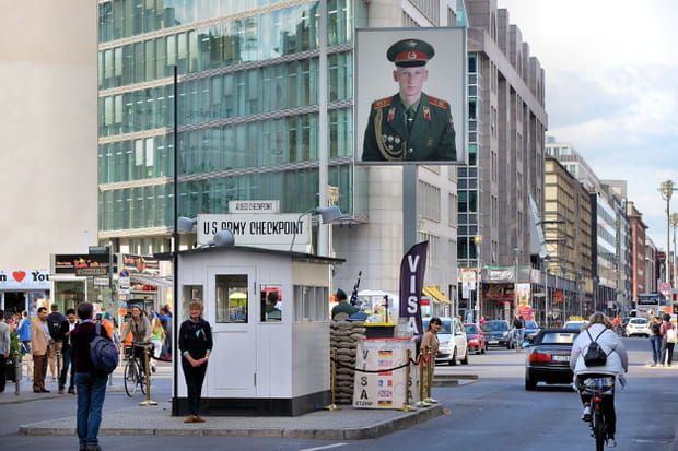 Traverser le Checkpoint Charlie