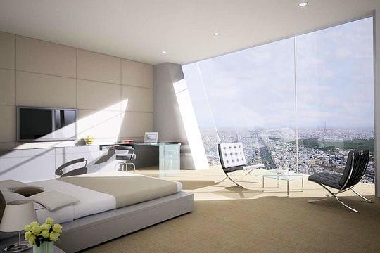 Une vue unique sur Paris
