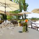 Restaurant : Le Château de Richebois   © la terrasse