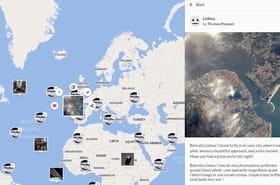 Les photos de Thomas Pesquet réunies sur une seule carte