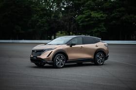 Le nouveau SUV électrique Nissan Ariya en images