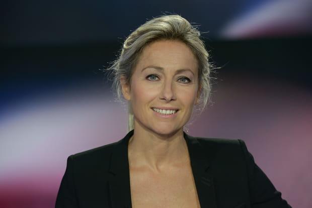 La présentatrice du 20h Anne-Sophie Lapix