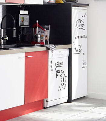 customiser le frigo. Black Bedroom Furniture Sets. Home Design Ideas